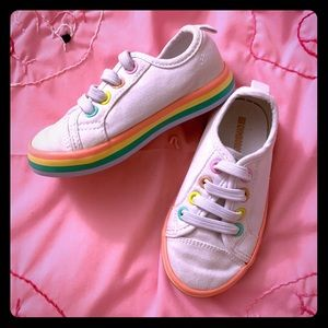 Gymboree Rainbow Canvas Sneakers